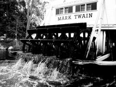 The Mark Twain on the Rivers of America, Disneyland, The Disneyland Resort, Anaheim, CA Mark Twain, Disneyland Resort, Photography Business, My Happy Place, Orange County, Rivers, Niagara Falls, America, In This Moment