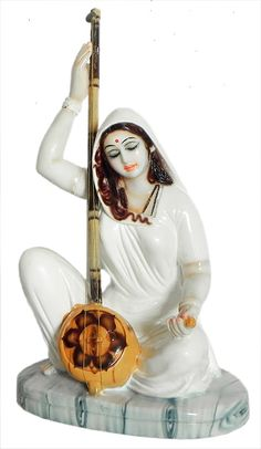 Meerabai - Great Devotee of Lord Krishna (Marble Dust))