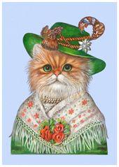 Cat Prints of Animal Century | Cat Art Print Collection
