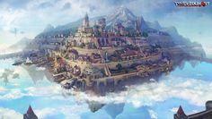 floating city kerris by *gamefan84 on deviantART