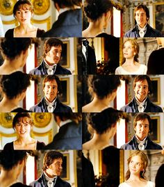 """"""" Lizzy: Your unfortunate brother once had to put up with my playing for a whole evening. Georgiana: But he says you play so well ! Lizzy: Then he has perjured himself most profoundly. Mr. Darcy: No, I said """"quite well"""". Lizzy: """"Quite well"""" is not..."""