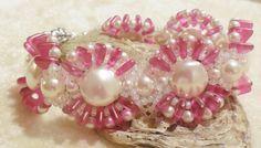 PATTERN Spring Loaded Bracelet 2 hole by BaublesbyBalonis on Etsy