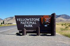 jJUNE 2013 yellow stone national park north entrance