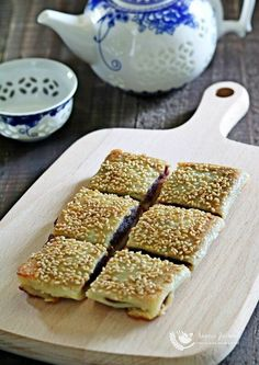 Red Bean Pancake 豆沙窝饼 is a popular snack in most Chinese restaurants and it is quite easy to make this delicious pancake at home with a few ingredients.
