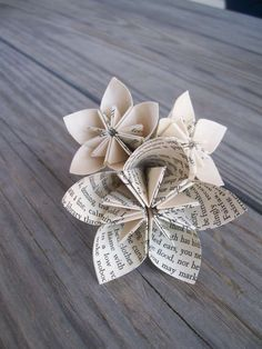 Items similar to Eco Friendly Paper Flower Boutonniere - Origami on Etsy Newspaper Flowers, Tissue Paper Flowers, Newspaper Crafts, Paper Roses, Plastic Flowers, Diy Arts And Crafts, Crafts To Sell, Eco Friendly Paper, Paper Flower Tutorial