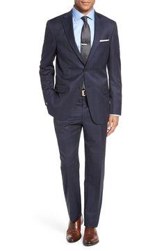 d3d5c71d7 Hart Schaffner Marx Classic Fit Plaid Wool Suit