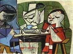 Breakfast, 1953 ~ Pablo Picasso