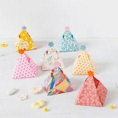 Ballotins en origami