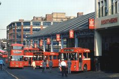 Worswick Street bus station in Although the structure still stands, today it is in use as a car park. Photo by Trevor Ermel. Newcastle Town, Newcastle Gateshead, Newcastle England, Old Pictures, Old Photos, Durham City, Northumberland England, North East England, Northern England