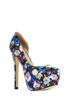 Jazzy Schuhe in FLORAL - günstig kaufen bei JustFab
