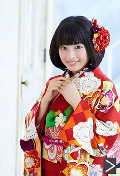 Suzu Hirose (広瀬すず)/kimono