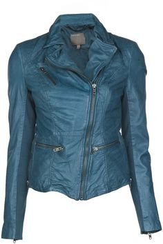 Leather Jacket - Lyst