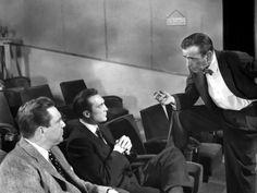 """Edmund O'Brien, Warren Stevens, and Humphrey Bogart in """"The Barefoot Contessa"""" (1954) Edmond O'Brien - Best Supporting Actor Oscar 1954"""