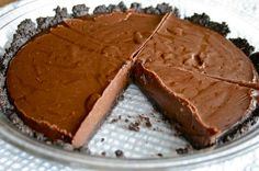 Double Chocolate Silk Cream Pie {a.k.a. the pie that got me married!} | Lauren's Latest