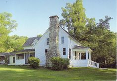"Laura Ingalls Wilder's ""dream home"" in Mansfield, Missouri- custom built by her husband Almanzo"