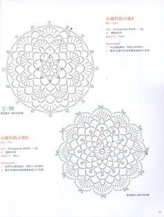 Альбом«Asahi Original Crochet Flower Doily (China)(Цветочные салфетки крючком.Китай) . Обсуждение на LiveInternet - Российский Сервис Онлайн-Дневников
