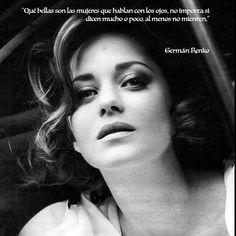 Qué bonitas son las mujeres que hablan... Germán Renko
