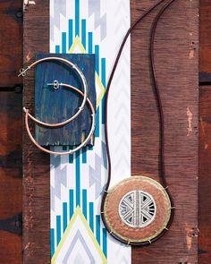 Global Glam Hoop Earrings | Jewelry by Silpada Designs