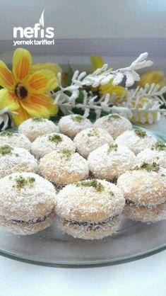 Hindistan Cevizli Sütlü Kurabiye - Nefis Yemek Tarifleri Subway Cookies, Tasty, Yummy Food, Mini Cheesecakes, Homemade Beauty Products, Cookie Recipes, Muffin, Brunch, Food And Drink