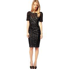 T shirt style prom dresses short Casual Dresses, Fashion Dresses, Dresses For Work, Formal Dresses, Satin Dresses, Lace Dress, Prom Dresses, Junior Outfits, Karen Millen