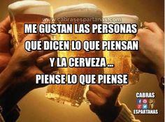 Cerveza me gusta como sea …