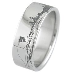 Fishing Scene Ring