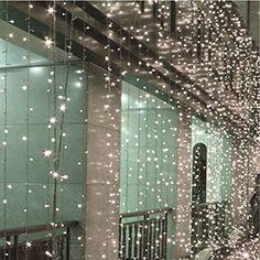 6*3m 600 LED Waterfall Fairy Curtain String Lights Decoration for Wedding Party Shows Christmas 110V AC Power (5, White) Lagpousi http://www.amazon.com/dp/B0144BO4MU/ref=cm_sw_r_pi_dp_a9Vmwb1WVXW82