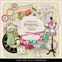 Scrapbooking TammyTags -- TT - Designer - Far Far Hill, TT - Item - Kit or Collection, TT - Style - Mini Kit
