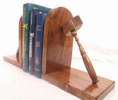 Here is another view of the bookends! Masonic Gifts, Making Out, Bookends, Solid Wood, Woodworking, Handmade, Home Decor, Art, Hand Made