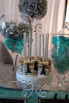 Sweet-Sixteen-Paris-Style-Birthday-Rice-Krispy-Treats