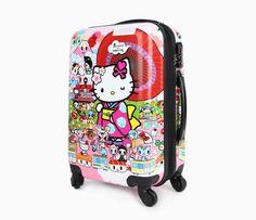 """tokidoki x Hello Kitty 19"""" Suitcase: Kimono"""
