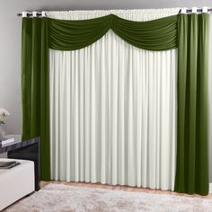 Resultado de imagen para modelo de cortina para igreja Window Coverings, Window Treatments, Panel Curtains, Valance, Window Dressings, Curtain Designs, Home Hacks, Diy Furniture, Bedroom Decor
