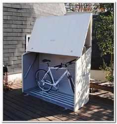 Clever Outdoor Bike Storage