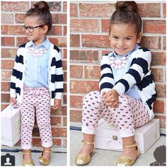 Cute outfit for a little girl
