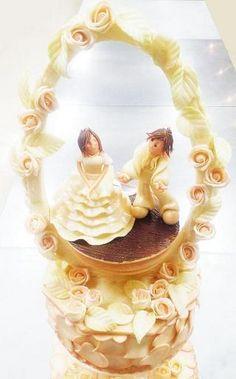 【レコールバンタン】世界にひとつのウエディングケーキ♪