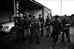 Chechen rebels. During Russia's first war in Chechnya. March/1995