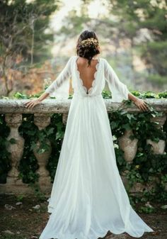 50 Chic Boho-Chic Wedding Dresses Ideas - EcstasyCoffee