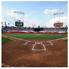 Home Sweet Home Blue Heaven on Earth L.A. Dodgers