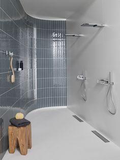 || Pure Line TOUCH || ☝️ Descubre el placer de la ducha a un simple toque.  #Grifería de ducha en versión digital y mecánica con la que es posible controlar temperatura, caudal y salidas de agua   #baños #diseñodebaños #duchas
