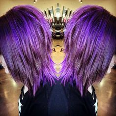 21 Looks That Will Make You Crazy for Purple Hair