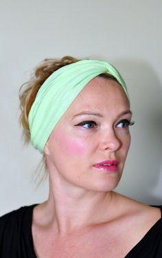 Turban Headband Turban Headwrap Twist CHOOSE COLOR by lucymir, $18.99