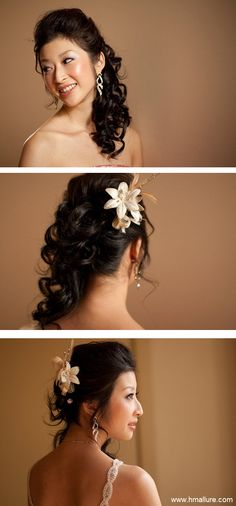 www.hmallure.com    Specialising in asian bridal hair and asian bridal makeup wedding services melbourne.
