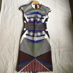 CLOVER CANYON scuba dress Clover Canyon multicolor scuba dress I welcome reasonable offers Clover Canyon Dresses Midi