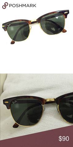 Rayban Clubmaster Sunglasses Perfect for summer and an upcoming vacations. RB3016. AUTHENTIC Ray-Ban Accessories Sunglasses
