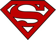 """Supergirl """"S"""" Logo Template to use in a DIY for the new Supergirl costume for the CBS television show. Download and print, cut out of fabric or felt, or use as a template with dimensional fabric paint. Be sure to cut out the white parts so the blue top shows through. Use the logo to make or modify your own Supergirl TV Costume."""