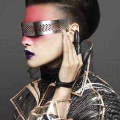 punk glam More Supernatural Style Moda Cyberpunk, Cyberpunk Fashion, Cyberpunk Art, Raver Girl, Punk Girls, Gothic Girls, Fashion Art, Editorial Fashion, Womens Fashion
