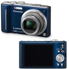 Panasonic Lumix DMCZS7 121 MP Digital Camera with 12x Optical Image Stabilized Zoom and 30Inch LCD Blue OLD MODEL *** AMAZON Great Sale