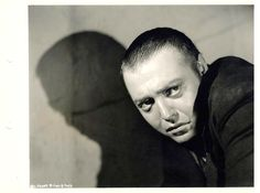 "PH - Irving Lippman - Peter Lorre as Raskolnikov. ""Crime and Punishment"" (1935). Directed by	Josef von Sternberg. Cinematography by Lucien Ballard. Distributed by Columbia Pictures."