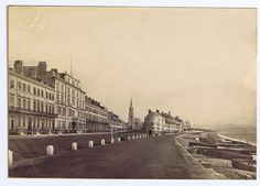 WEYMOUTH View in the Town - Antique Albumen Photograph c1890 | eBay Exeter, Present Day, Old Photos, Past, Louvre, England, Street View, Portland, History