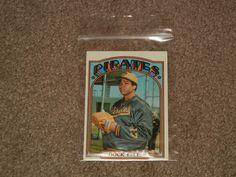1972 Topps Dock Ellis Pirates Baseball Card #179 (Sports, Collectibles)  #PittsburghPirates